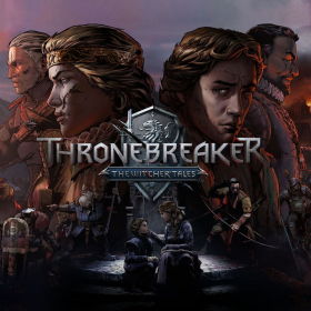 couverture jeu vidéo Thronebreaker : The Witcher Tales