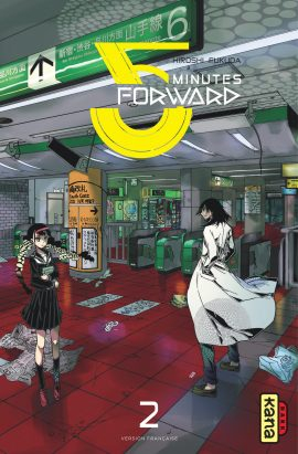 couverture manga 5 minutes forward T2