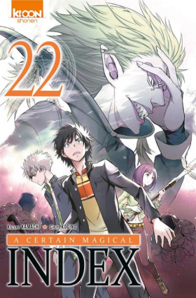 couverture manga A certain magical index T22