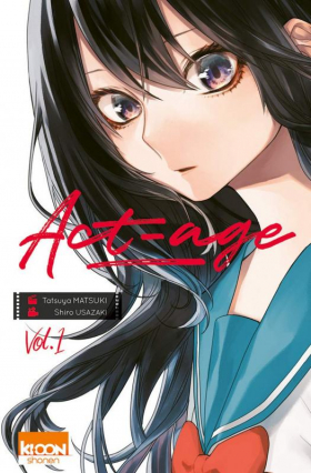couverture manga Act-age T1