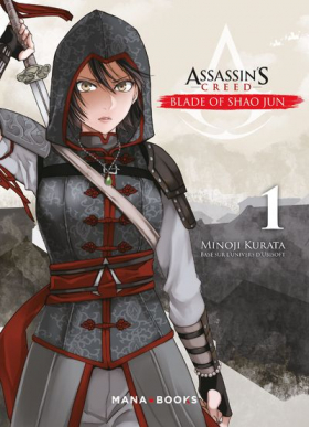 couverture manga Assassin's creed - Blade of Shao Jun  T1