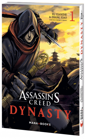 couverture manga Assassin's creed – Dynasty T1