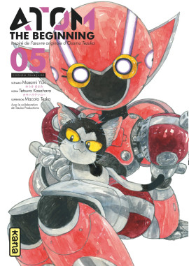 couverture manga Atom - The beginning  T5
