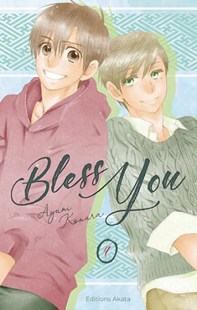 couverture manga Bless you  T4