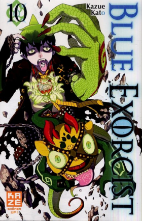 couverture manga Blue exorcist T10