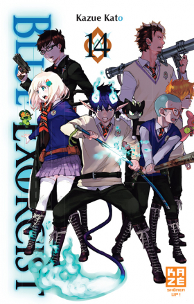 couverture manga Blue exorcist T14