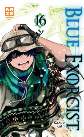 couverture manga Blue exorcist T16