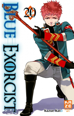 couverture manga Blue exorcist T20
