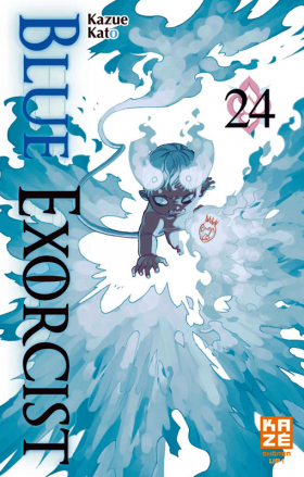 couverture manga Blue exorcist T24