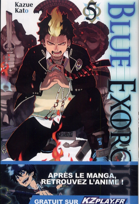 couverture manga Blue exorcist T5