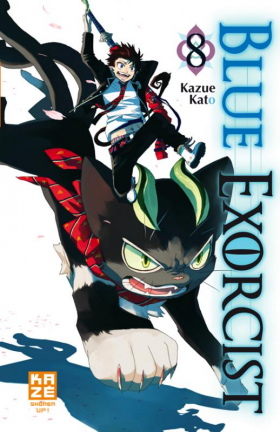 couverture manga Blue exorcist T8