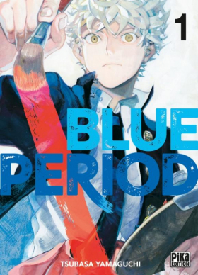 couverture manga Blue period T1