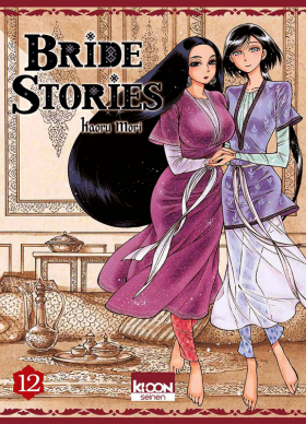 couverture manga Bride stories T12