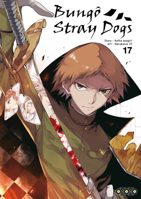 couverture manga Bungô stray dogs T17