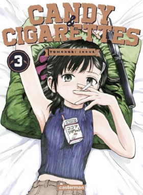 couverture manga Candy & cigarettes T3