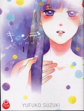 couverture manga Candy T1