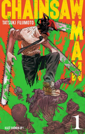 couverture manga Chainsaw man T1