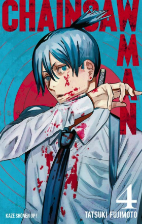 couverture manga Chainsaw man T4