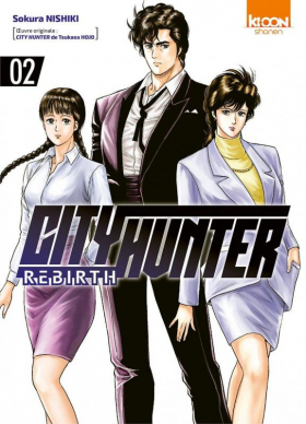 couverture manga City Hunter rebirth T2