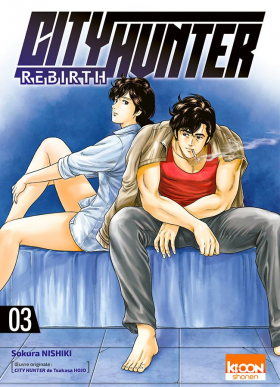 couverture manga City Hunter rebirth T3