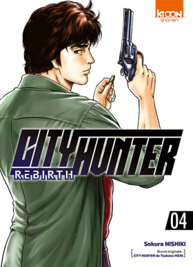 couverture manga City Hunter rebirth T4