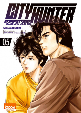 couverture manga City Hunter rebirth T5