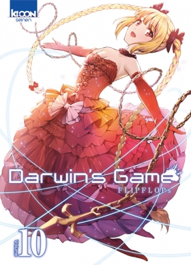 couverture manga Darwin's game T10