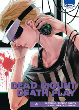 couverture manga Dead mount death play T4