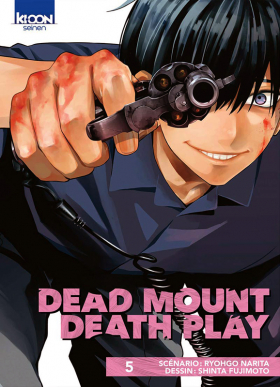 couverture manga Dead mount death play T5