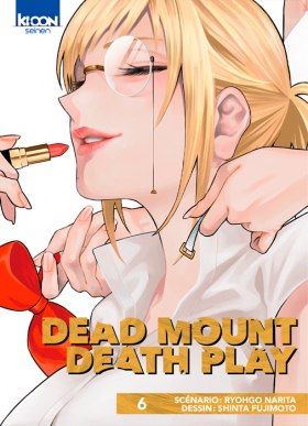 couverture manga Dead mount death play T6