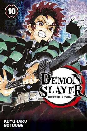 couverture manga Demon slayer T10