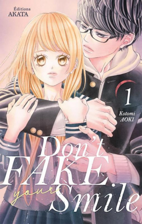 couverture manga Don't fake your smile T1