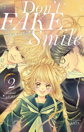 couverture manga Don't fake your smile T2