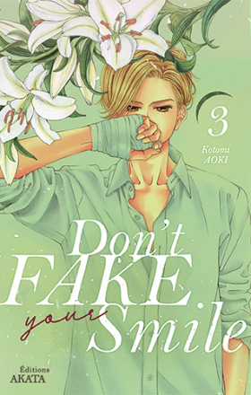 couverture manga Don't fake your smile T3