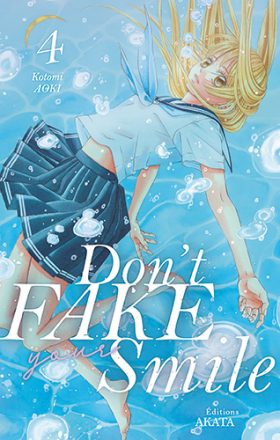couverture manga Don't fake your smile T4
