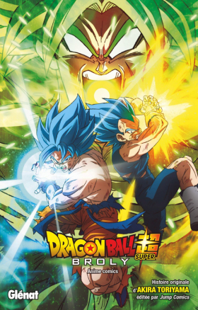 couverture manga Broly