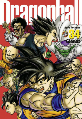 couverture manga Dragon Ball – Ultimate edition, T34