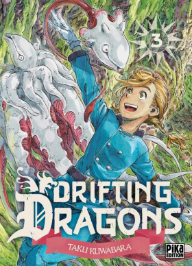couverture manga Drifting dragons T3