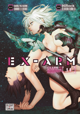 couverture manga Ex-Arm T11