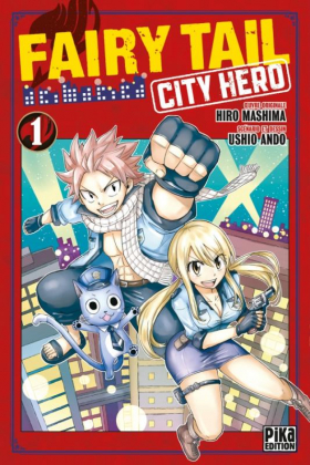 couverture manga Fairy tail city hero T1