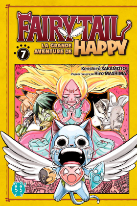 couverture manga Fairy tail - La grande aventure de Happy  T7