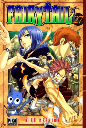 couverture manga Fairy Tail T27