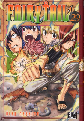 couverture manga Fairy Tail T29