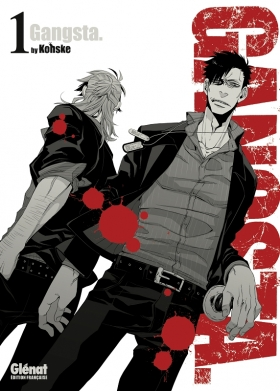 couverture manga Gangsta T1
