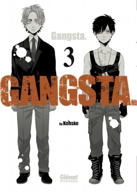 couverture manga Gangsta T3
