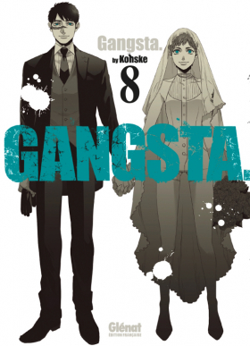 couverture manga Gangsta T8