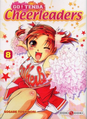 couverture manga Go ! Tenba Cheerleaders T8