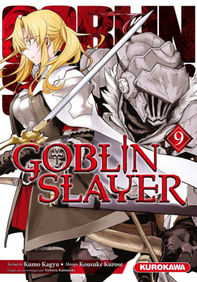 couverture manga Goblin slayer T9