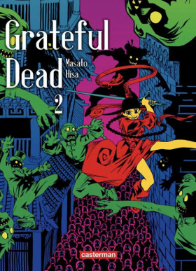 couverture manga Grateful dead T2