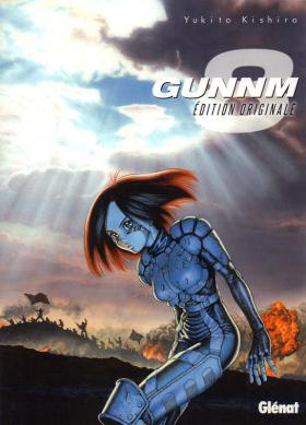 couverture manga Gunnm Edition originale  T8